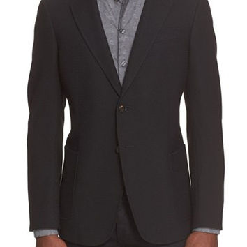 Trim Fit Textured Sport Coat