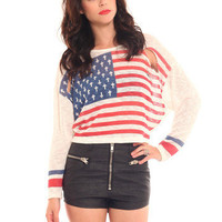 GYPSY WARRIOR - Cross Flag Sweater