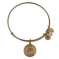 Alex and Ani University Of Delaware® Logo Charm - Russian Gold