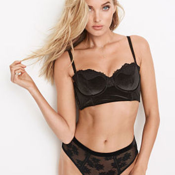 Velvet Long Line Bra - Dream Angels - Victoria's Secret