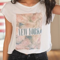 ELIN ROSES AND NEW YORK TOP
