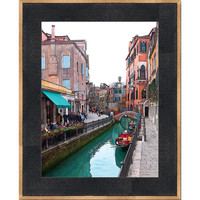 Hadley House 116920591015 Afternoon on the Canal by Bonnie Adams: 15 x 21 Framed Giclee Canvas