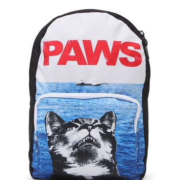 Riot Society Paws School Backpack - Womens Backpack - Blue - NOSZ