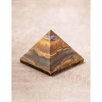 Tiger Eye Pyramid - As Is Clearance