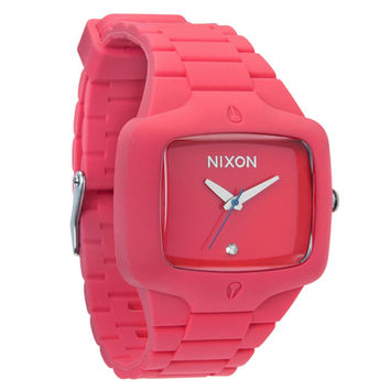 Nixon - Rubber Player Coral Watch