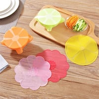 Fruit Shape Stretchy Bowl Cover Silicone Suction Lid-bowl Cooking Pot Stretch Silicone Lid Dishware Suction Covers Bowl Lid 1pc