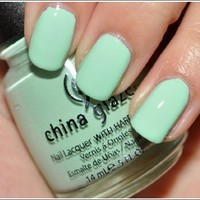 China Glaze up & Away Collection: Re-fresh Mint #867/80937