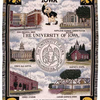Throw Blanket - University Of Iowa