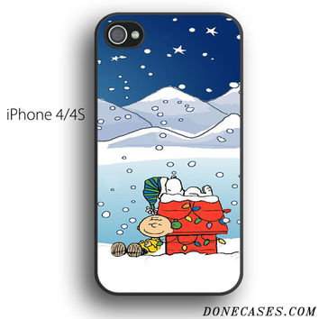 charlie brown christmas case for iPhone 4[S]