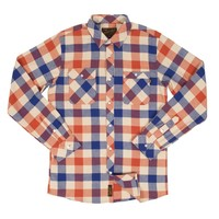 Cabin Flannel Rust L/S Button-Up - Shop | Benny Gold