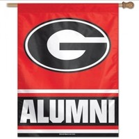 UGA Alumni Banner/Vertical Flag | UGA Flags | Georgia Bulldogs Merchandise | Shop Dawghut.com
