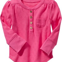 Pointelle-Heart Tops for Baby