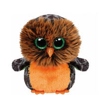 TY Beanie Boos Small Midnight the Owl Soft Toy