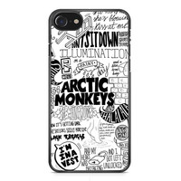 Artic Monkey Rock Band Lyrics iPhone 7 Case