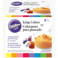 8 Icing Colors Set