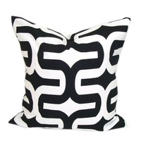Popeven Italian Black and White Throw Pillow Cover Embrace Decorative Pillow Cushion Cover