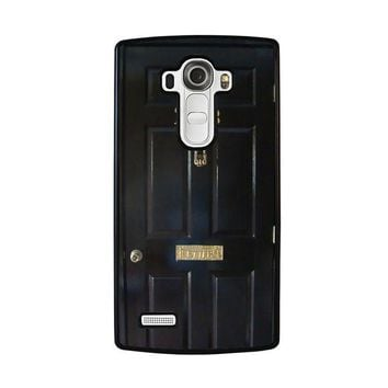the door of sherlock holmes lg g4 case cover  number 2