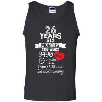 Anniversary Gift 26th - 26 years Wedding Marriage ideas