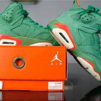 "Air Jordan 6 Retro AJ6 AJ5986-335 ""Gatorade"""