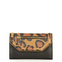 Leopard Zip Edge Purse - New In This Week  - New In