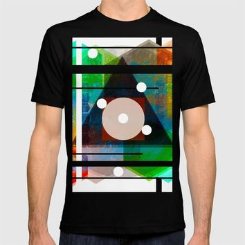 Abstract T-shirt by Moonlit Emporium