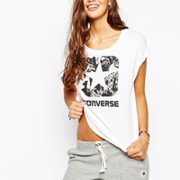 Converse Boyfriend T-Shirt With Star Logo Print