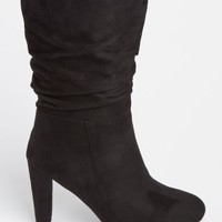 Black Slouch Bootie By Wild Diva