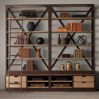 1950s Dutch Shipyard Quad Shelving
