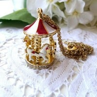 Merry-go-round Necklace - New Arrivals - Retro, Indie and Unique Fashion