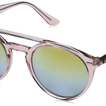 Ray-Ban Women's Round Brow Bar Sunglasses