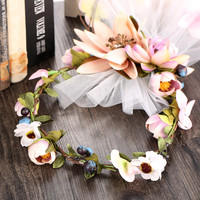 Headwear Korean Handcrafts Ring Wedding Dress Accessory Hair Accessories Style Prom Dress [9284025732]