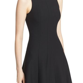 Elizabeth and James Boatneck Fit & Flare Dress | Nordstrom