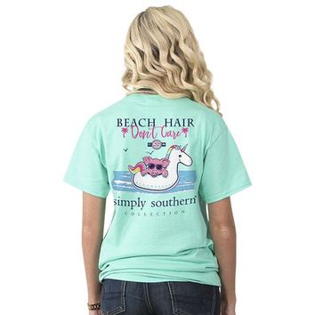 """Youth Simply Southern """"Beach Float"""" Short Sleeve Tee"""
