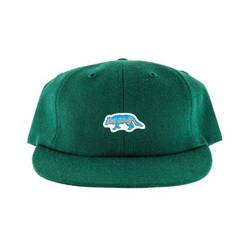 Raised by Wolves Geowulf Polo Cap Spruce Wool