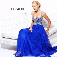 Photos of Sherri Hill Dress 3836 at Peaches Boutique