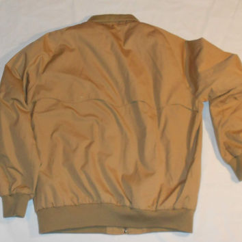 Brooks Brothers Bomber-Style Casual Jacket 44L removable liner