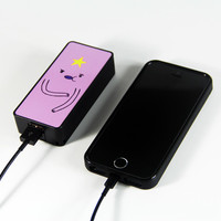 Adventure Time Lumpy Space Princess Power Bank External Battery Charger for iPhone and Samsung Andriod