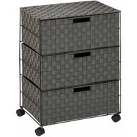Honey-Can-Do 3-Drawer Chest with Wheels, Salt and Pepper - Walmart.com