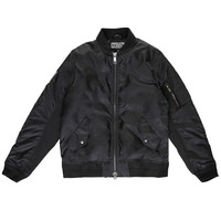 MASSIV. - Flight Jacket - Black