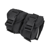 Double Frag Grenade Pouch Color- Black