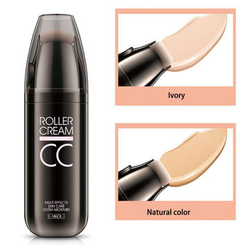 New CC Cream Makeup Concealer Powder Foundation Small Roller Sponge Puff BB Cream Women Love Gift Creams 2016