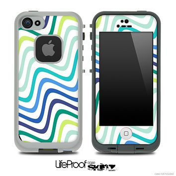 Swirly Fun Color Pattern Skin for the iPhone 5 or 4/4s LifeProof Case