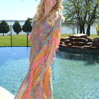 Turks and Caicos Kaftan Dress