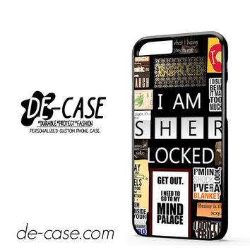 Sherlock Holmes Wallpaper Bbc DEAL-9564 Apple Phonecase Cover For Iphone 6 / 6S