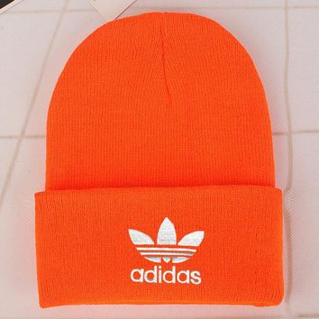 Adidas Fashion Edgy Winter Beanies Knit Hat Cap-1