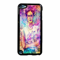 Frida Kahlo Flower Paintings On Galaxy Nebula iPod Touch 5th Generation Case