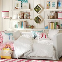 Jamie Stripe Bedroom