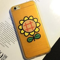 Cute Sunflower Case Cover for iphone 5s 6 6s Plus Gift 199-170928