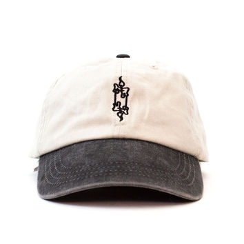 Candle Outdoors Cap (Black and Cream)