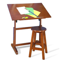Studio Designs Creative Table and Stool Set - Walnut